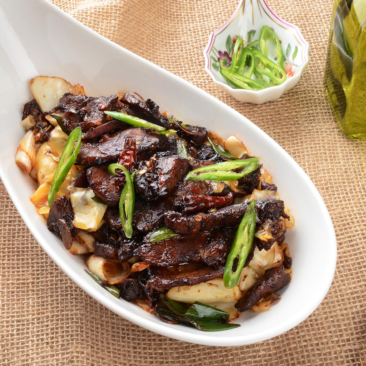 중국 사천 요리 회과육 (훼이궈로우)