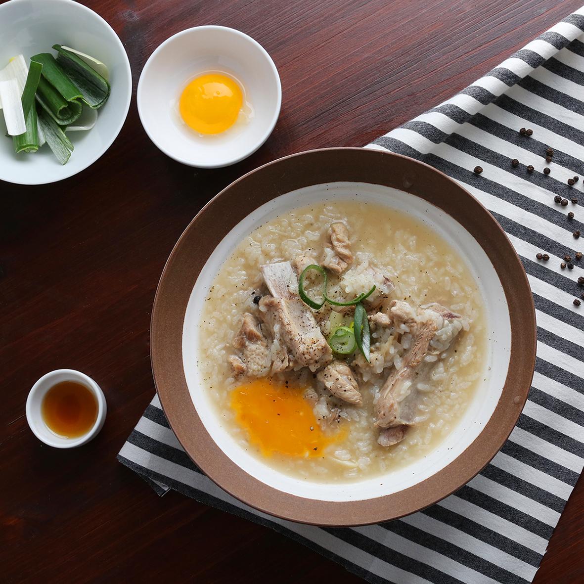 돼지갈비 장국밥