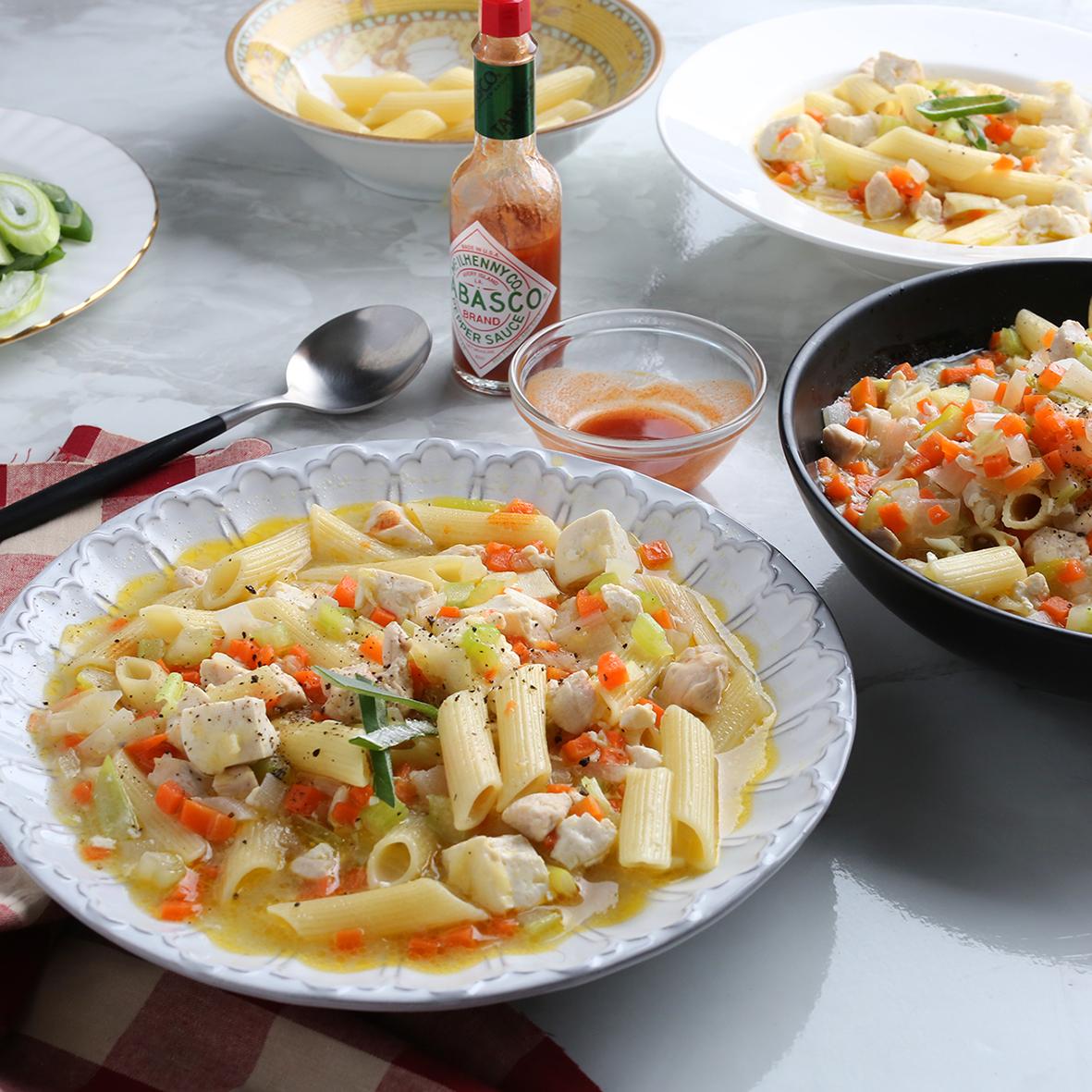 두부 & 치킨 누들스프
