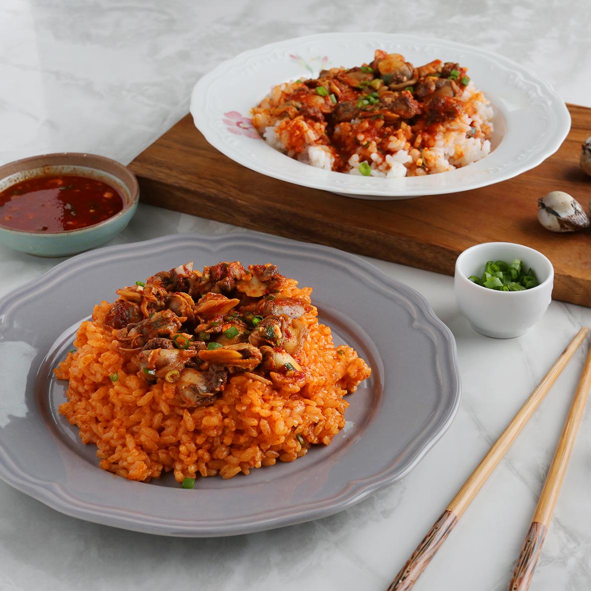 강릉식 꼬막비빔밥